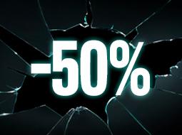 Prodotti al -50%