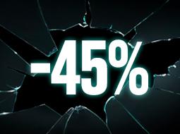 Prodotti al -45%
