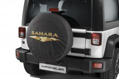 Copri ruota di scorta con logo Sahara