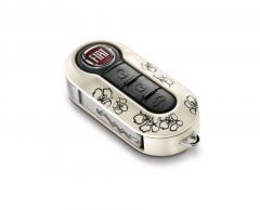 Kit cover chiavi Fiori per Fiat 500