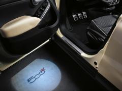 Luci di cortesia per portiera anteriore (luci pozzanghera) per Fiat 500X