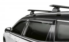 Deflettori aria per finestrini anteriori e posteriori