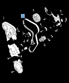 Cinghia di distribuzione  per Jeep Compass/Patriot
