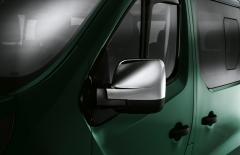 Calotte cromate per specchietti furgone per Fiat Professional Talento