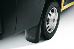 Paraspruzzi posteriori in gomma per Fiat Professional Ducato