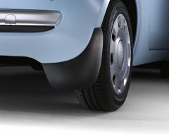 Paraspruzzi posteriori in gomma per Fiat 500