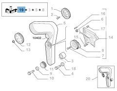 GRUPPO COMANDO DISTRIBUZIONE (Essential Part)