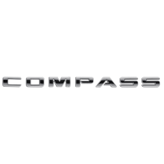 Sigla modello Compass per Jeep Compass/Patriot