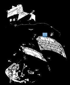 Cofano per Lancia Voyager