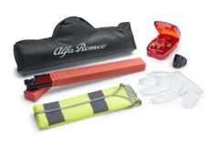 Kit sicurezza con triangolo e gilet catarifrangente per Alfa Romeo Giulietta