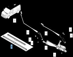 Kit 2 spazzole tergicristalli anteriori per Fiat Professional Talento