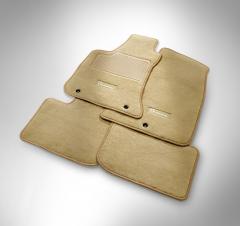 Kit tappeto anteriore e posteriore in moquette per Lancia Thema