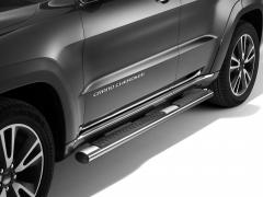 Predellini cromati pedane laterali sottoporta per Jeep Grand Cherokee