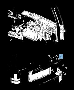 Spazzola tergicristallo posteriore per Jeep Cherokee