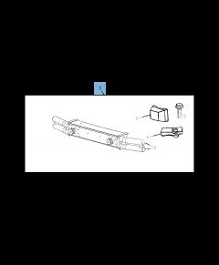 Paraurti tubolare anteriore per Jeep Wrangler