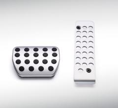 Pedaliera sportiva in alluminio per cambio automatico