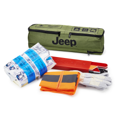 Kit di pronto soccorso con triangolo per Jeep