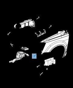 Parafango per Lancia Voyager