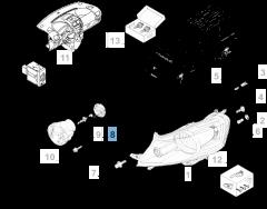 Fendinebbia per Fiat Professional Scudo