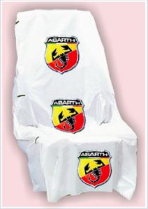 Coprisedili con logo Abarth