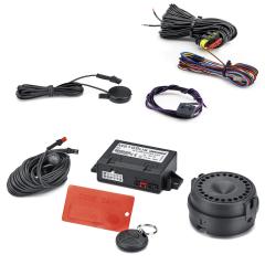 Sistema antifurto allarme volumetrico per Fiat 500