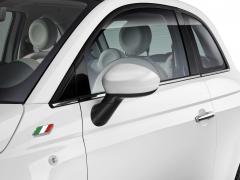 Calotte specchietti bianco lucido per Fiat 500