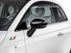 Calotte specchietti nero lucido per Fiat 500