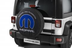 Copri ruota di scorta con logo MOPAR