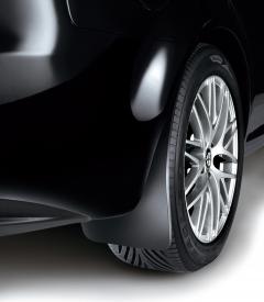 Paraspruzzi posteriori in gomma per Alfa Romeo 159