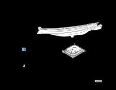 Faro anteriore destro privo di centralina DRL