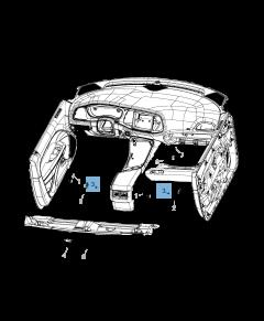 Lampadina cassetto 6W 12V per Jeep