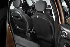 Copertura nera sedili posteriori per Fiat e Fiat Professional