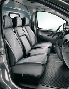 Fodera protettiva per sedile lato guida per Fiat Professional Scudo