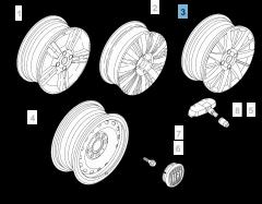 """Cerchio in lega 6J x 16"""" per Fiat e Fiat Professional"""