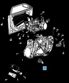 Alzacristallo anteriore per Lancia Thema