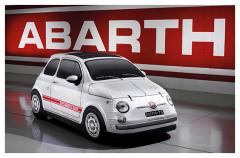 Telo copriauto 500 Abarth vintage