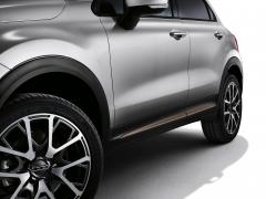Finiture laterali bronzo per portiere per Fiat 500X