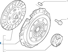 Kit frizione (disco, spingidisco e cuscinetto reggispinta) per Fiat Professional Ducato
