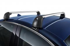 Barre portatutto in alluminio per tetto per Alfa Romeo Giulia