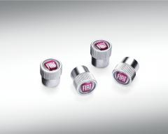 Tappi valvole pneumatici con logo Fiat per Fiat