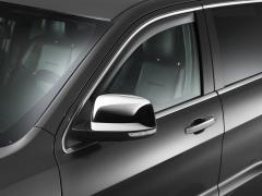 Deflettori aria oscurati per finestrini posteriori per Jeep Grand Cherokee