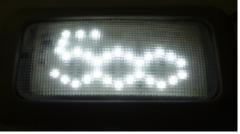 Lampadine a LED con logo 500