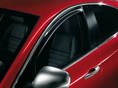 Deflettori antiturbolenza anteriori per finestrini per Alfa Romeo Giulietta