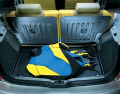 Protezione semirigida per bagagliaio per Fiat Panda