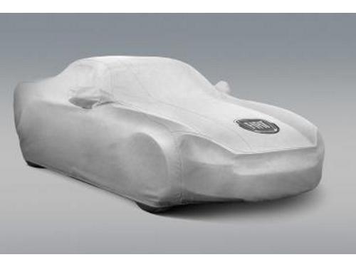 EMMEA Telo Copri Auto Felpato Compatibile con Smart FORTWO 2007 Impermeabile Grigio