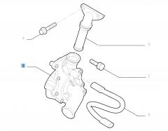 Pompa acqua per Fiat Professional Ducato