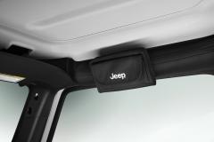 Porta occhiali da sole con logo Jeep