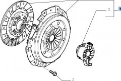 Kit frizione (disco, spingidisco e cuscinetto reggispinta) per Fiat e Fiat Professional