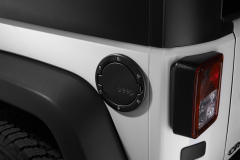 Tappo carburante nero satinato con logo Jeep