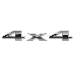 Sigla 4X4 posteriore